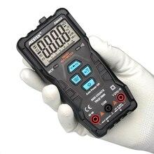 Mestek dm90s multímetro inteligente completo de alta velocidade ncv verdadeiro rms digital automático anti queima portátil universal multímetro