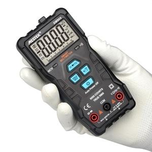 Image 1 - Mestek dm90s multímetro inteligente completo de alta velocidade ncv verdadeiro rms digital automático anti queima portátil universal multímetro