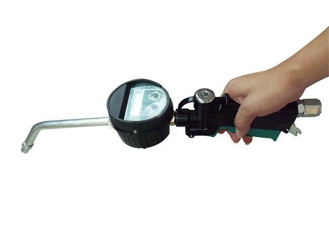 Affichage LCD anti-goutte haute pression pistolet à huile haute précision doseur électronique alliage de pistolet de ravitaillement