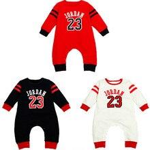3 Couleurs Nouveau-Né Vêtements Bébé vêtements Coton Imprimé Bébé garçon Barboteuses Nourrissons Bebes Combinaison à manches Longues Pour les nouveau-nés
