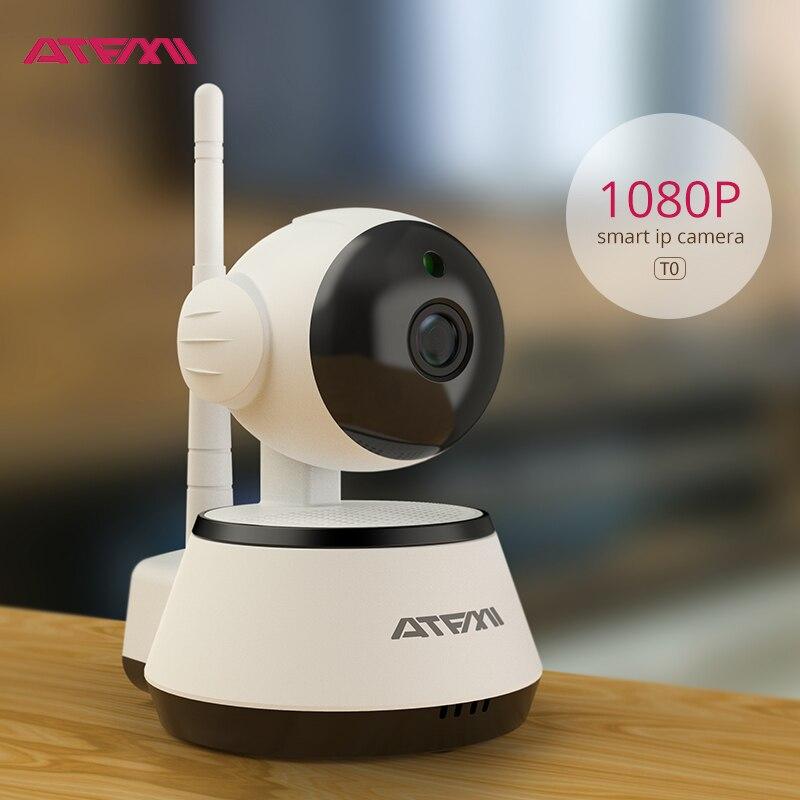ATFMI T0L 1080 p WIFI Cámara inteligente P2P IP cámara mejor casa tienda de la casa de apartamento de vigilancia del producto de la cámara IP inalámbrica