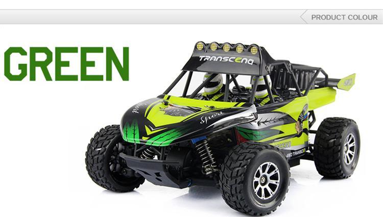 YUKALA K929 1/18 high-speed 4WD 2.4GHz electric RC off-road car /remove control truck free shipping