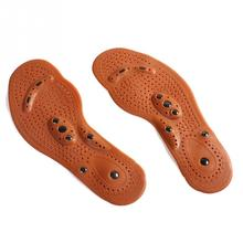 Magnetic Therapy Magnet Health Care Foot Massage Insoles Men/ Women Shoes Comfort Pads for size 35-45