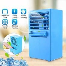 Einfach Dmwd Hostel Kälte Klimaanlage Fan Einzigen Kalten Typ Conditioner Lüfter Kühler Pad Kühlung Wasser Kühler Matratze Haushaltsgeräte