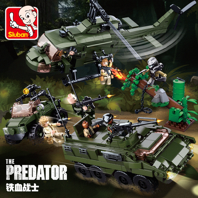 Lego Military Helicopter 1