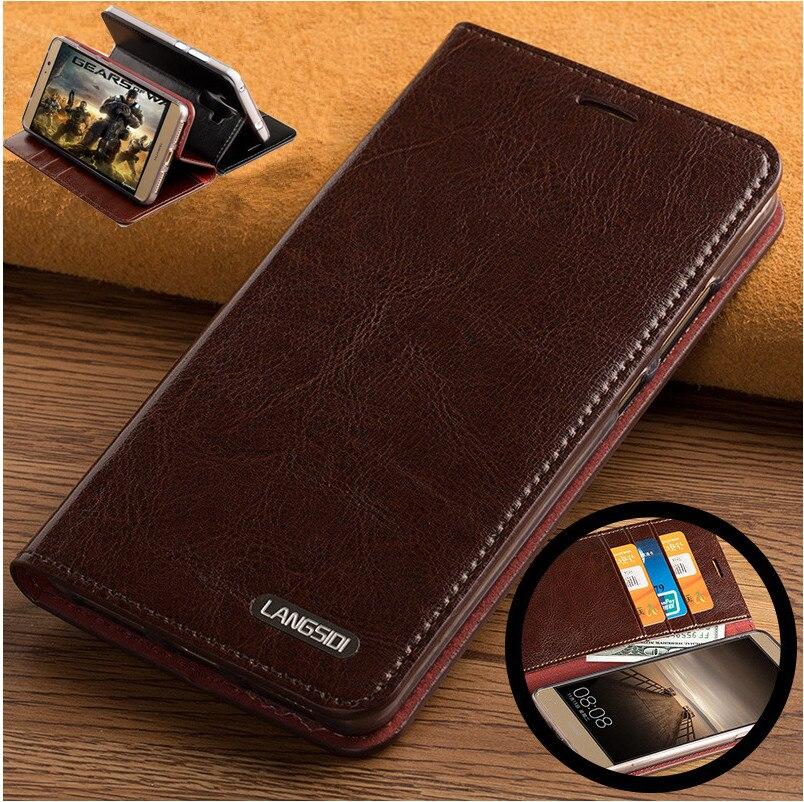 ND06 Чехол книжка из натуральной кожи для samsung Galaxy Note 5, чехол для телефона с отделениями для карт, бесплатная доставка