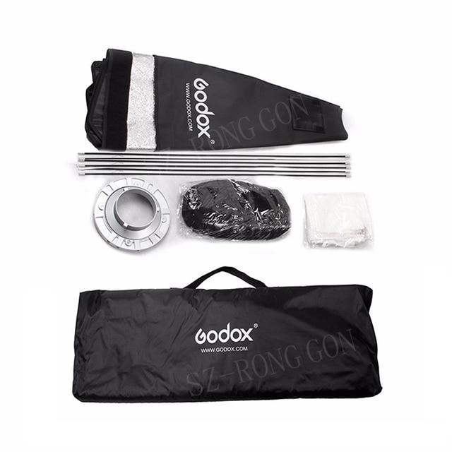 Godox 12 x 47 30 x 120cm Strip Honeycomb Grid Rectangular Softbox for Photo Strobe Studio