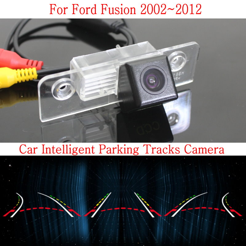 Car Intelligent Parking Tracks Camera FOR Ford Fusion 2002~2012 Back up Reverse Camera / Rear View Camera / HD CCD Night Vision купить