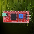 IIC I2C TWI SPI Serial Interface Board Module Arduino 1602 2004 LCD Display for Diy