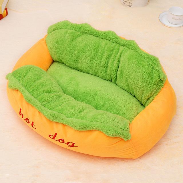Funny Hot Dog Shaped Dod Bed