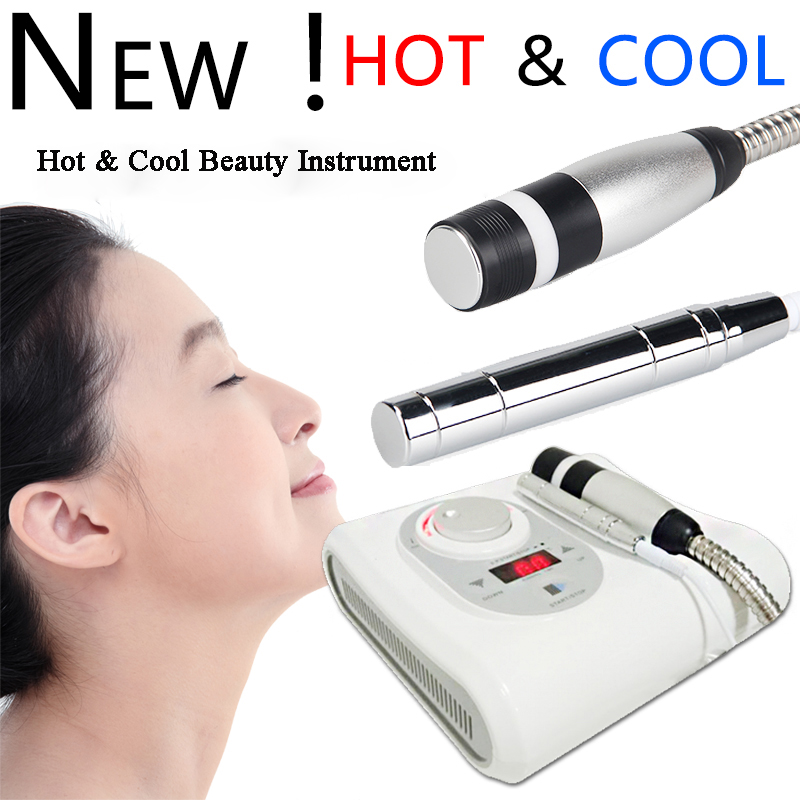 TOP BEAUTY Hot Cool Cold Hammer Anti-Aging Electroporation Tighten Pores Skin Mesotherapy Lifting Skin Rejuvenation