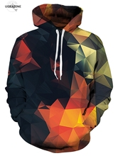 UIDEAZONE Moletom 3D Print Color Blocks Men Hoodies With Hat Thin Tops Harajuku Graphic Casual Sweatshirts Hoodies Plus Size 6XL