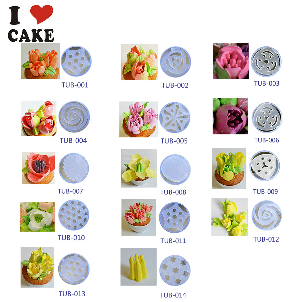 Cupcake decorating tip sizes for Decorating advice