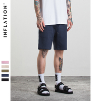INFLATION 2017 New Arrivals Mens Pocket Sweat Shorts High Quality Joggers Casual Hip Hop Loose