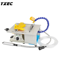 850W Multifunction Mini Table Saw Stone Polisher Jade Engraving Machine Grinding machine Table Saws Jade Cutting machine 220V