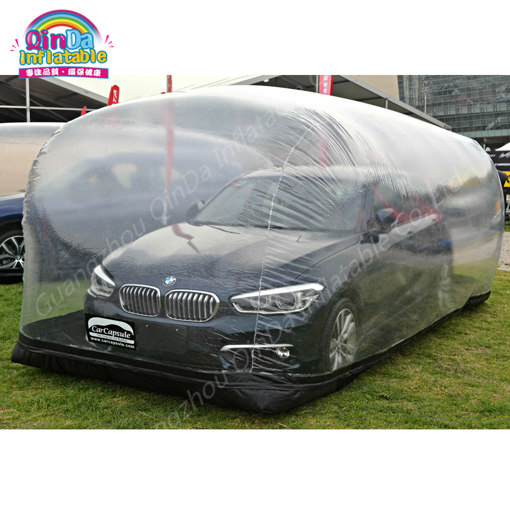 PVC Inflatable Car Shelter Car Capsule Showcase,Inflatable Dust Proof Transparent Tent For Car,Storage Car цена 2017