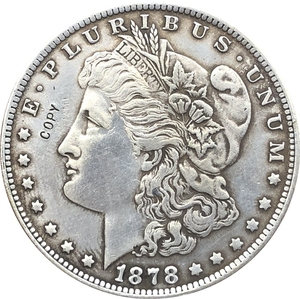1878-CC USA Morgan Dollar coins COPY(China)