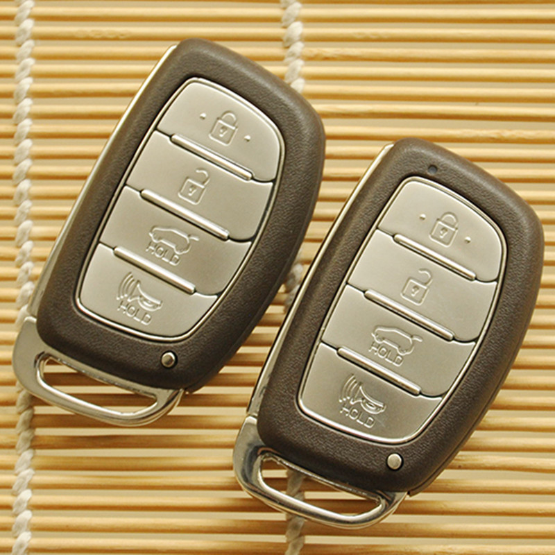 4 Button Smart Remote Key Shell Case FOB For HYUNDAI IX35 MISTRA Replacement Car Smart Shell