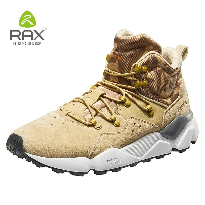 Rax Randonnée Bottes Femmes Hiver Chaud Trekking Chaussures Léger Sports de Plein Air Chaussures pour Hommes Femmes Escalade Chaussures Respirant