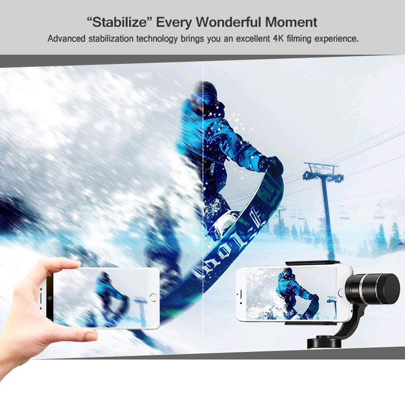 Feiyu FY G4 Pro 3 axis brushless handheld pan 360 degree limitless Smartphone stablizer gimbal pk Zhiyun Smooth C OSMO Mobile