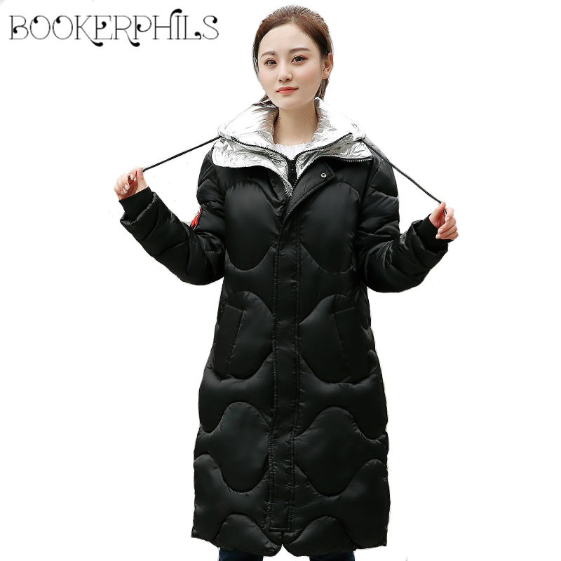 2017 Winter Women Jacket Coat Hooded Thick Warm Women Parkas Plus Size Fashion Brand Fluffy Women Cotton Padded Jacket L-3XL winter jacket women 2017 new fashion female long coat thick warm padded cotton jacket parkas casual hooded jacket plus size loo