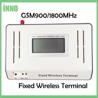GSM900 1800MHZ Fixed Wireless Terminals LED LCD Display Connecting Desktop Phone Stable Signal
