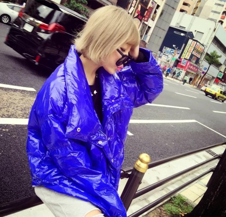 Coton De Solide Pain Épaissir Nouveau Qualité L1552 Couleur D'hiver Lâche Manteau Blue Style Parkas Femmes Veste Grande Lumineux Haute Outwear Taille q8xB1Owtx
