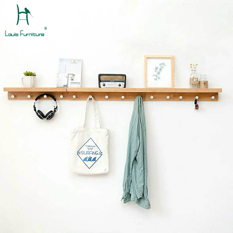 Louis Fashion Coat Racks Clothes Hanger Rack Hook Creative Hanger Hanging Wall 5pcs set colorful hanger floor bag wall hanger wood dots hook rack hook the dots coat hooks clothes hanger rack hanger