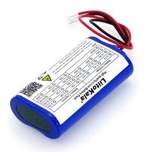 Image 3 - LiitoKala литиевая батарея 18650 7,2 В/7,4 В/8,4 В, 2600 мА, аккумуляторная батарея, Мегафон, защитная плата динамика