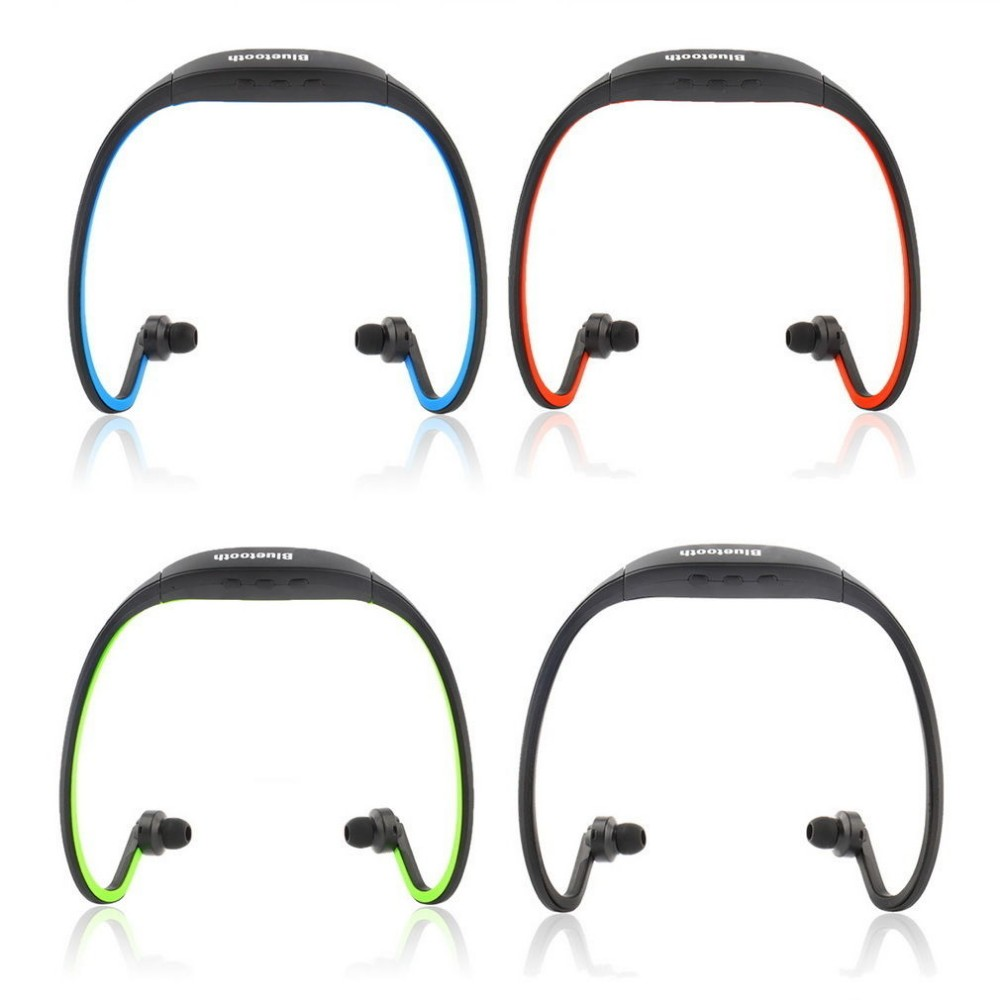 Sport Bluetooth Earphone Wireless Bluetooth SD Card Slot Auriculares Bluetooth Headphones Microphone For iphone smartphones wireless bluetooth earphone headphones s9 sport earpiece headset with tf card slot 8g auriculares with micro for iphone android