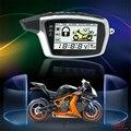 Оригинальный <font><b>OEM</b></font> шпион 5000 м двухсторонняя противоугонная система охранной сигнализации мотоцикла с 2 ЖК-передатчиками дистанционного запус...