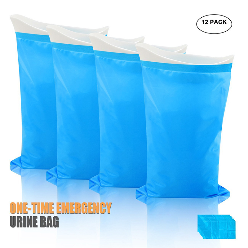 Disposable Emergercy Portable Unisex Wee Bag Urine Collection Vomit Bags Traffic Jam Urinal Bag Mini Toilet Wee Pee Bag