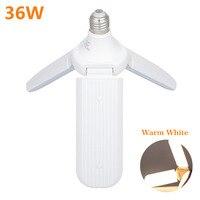E27 Home LED Bulb Durable Multi Use Adjustable PC Fan Blade White Ceiling Light Energy Saving Foldable Super Bright Easy Install LED Bulbs & Tubes    -