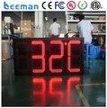 """Leeman из светодиодов цифровые часы настенные / из светодиодов цифровой дисплей часов 10 """" 88 : 88 : 88 открытый синий из светодиодов обратный отсчет дисплея"""