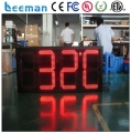 "Leeman led digital clock wall mounted / led digital clock display 10"" 88:88:88 Outdoor blue led countdown display"