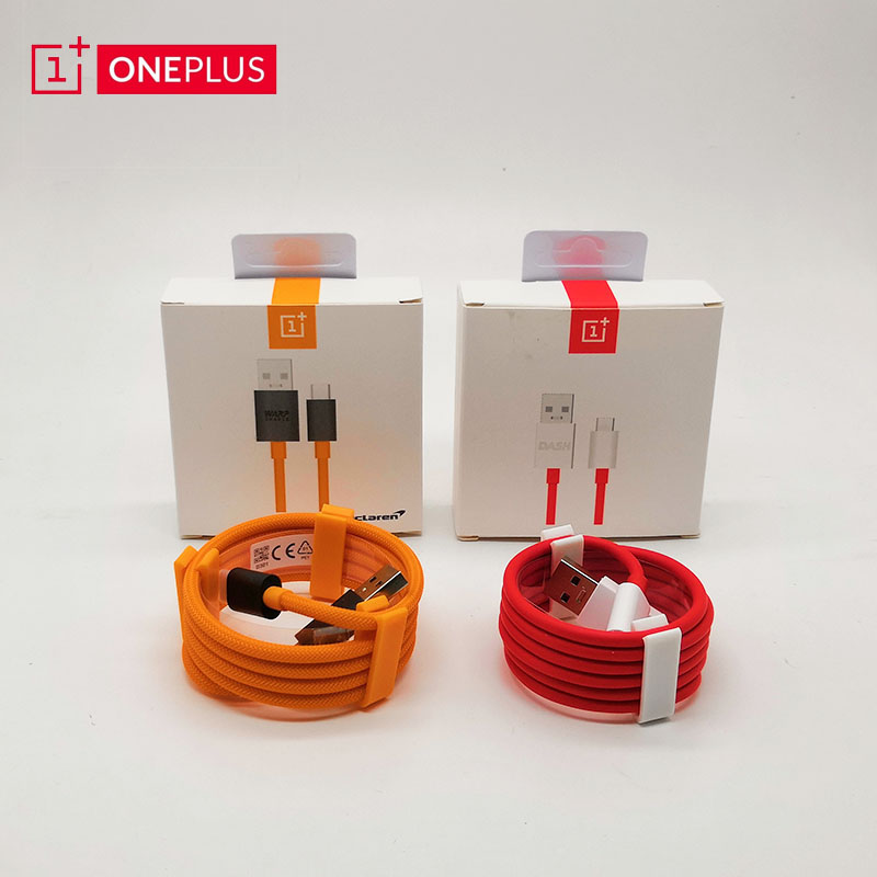 Nylon Original Oneplus 7 6t 6 5t 5 3t 3 Mclaren Cable USB Type C Warp Dash Charge Fast Charging USB-C Oneplus6T Cord 1m 5v 4a