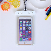 Original 331332 Universal Waterproof Case For Smartphone Dry Bag Clear PVC Sealed Underwater Cell Smart Phone