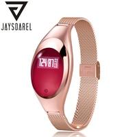 JAYSDAREL Z18 Dames Elegante Hartslagmeter Smart Horloge Vrouwen Mode Bloeddruk Fitness Tracker voor Android iOS