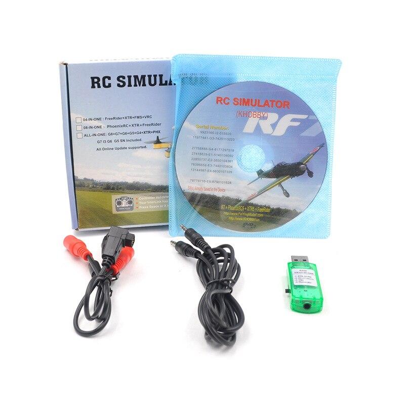 22 In 1 Flight RC Simulator Wireless USB RealFlight Freerider G7.0 G6 PH5.0 For Flysky I6x FUTABA Radiolink AT9s AT10 RC Helis