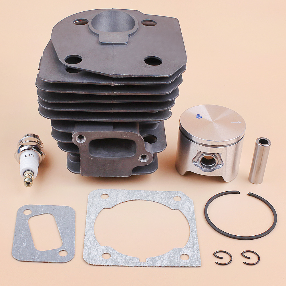 Kit 537253002 44mm Engine 345 Motor Chainsaw For 353 350 Gasket 351 Rebuild Kit 346XP OEM HUSQVARNA Piston Cylinder 340 Head
