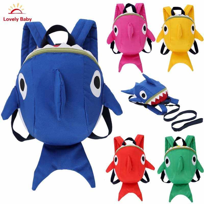 c079478e3 Los niños niño mochila arnés de seguridad adorable mochila Kinder mochila  de dibujos animados Animal mochila