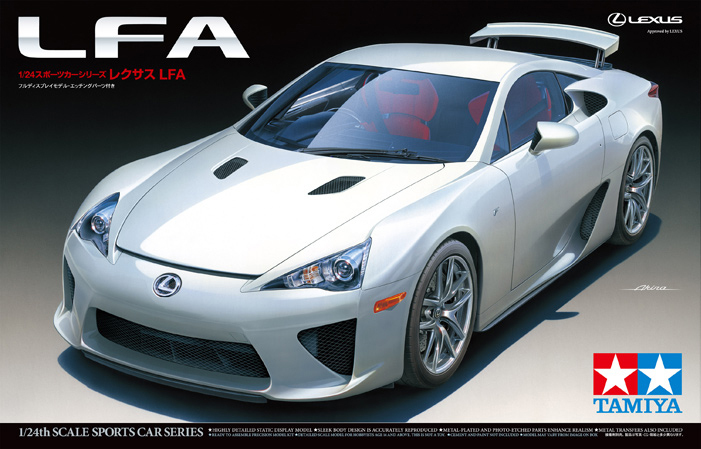 LEXUS LFA 1/24 Car Model 24319