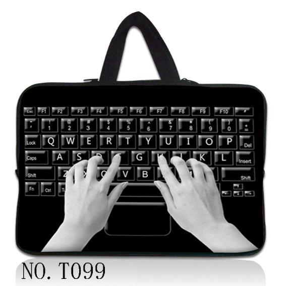 Keyboard Hand 10 12 13 15 17 inch Laptop Sleeve Waterproof Sleeve Pouch Bag Tablet Case Cover For Dell HP ASUS 17.3 15.6 13.3