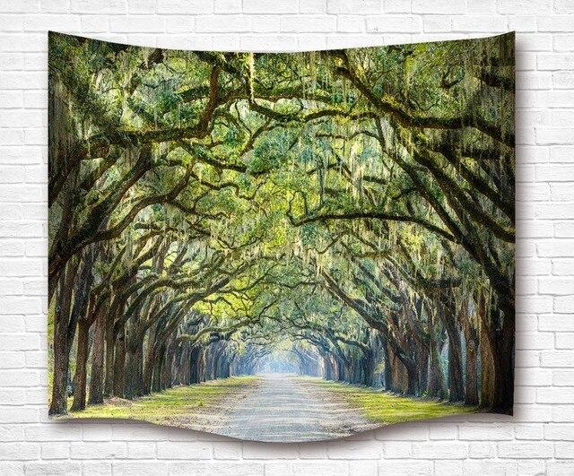 Indian Mandala style Tapestry Oak avenue Wall Hanging Tapestries Beach Towel Yoga Mat Blanket Table Cloth  Sunscreen shawl