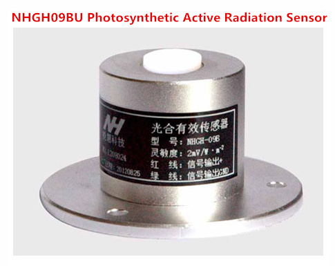 NHGH09BU Photosynthetic Active Radiation Sensor Photosynthetic Quantum Table Effectively Photosynthetic Active Transmitter