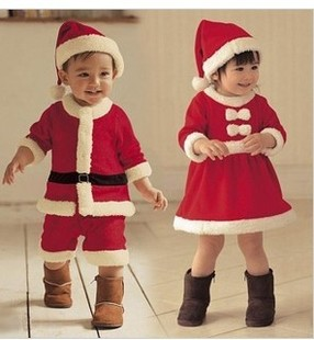 Baby Boyu0027s Girl Christmas Costume Clothes Santa Baby DressChildrenu0027s Winter Suits Wholesale And Retail Free Shipping-in Clothing Sets from Mother u0026 Kids ...  sc 1 st  AliExpress.com & Baby Boyu0027s Girl Christmas Costume Clothes Santa Baby Dress ...