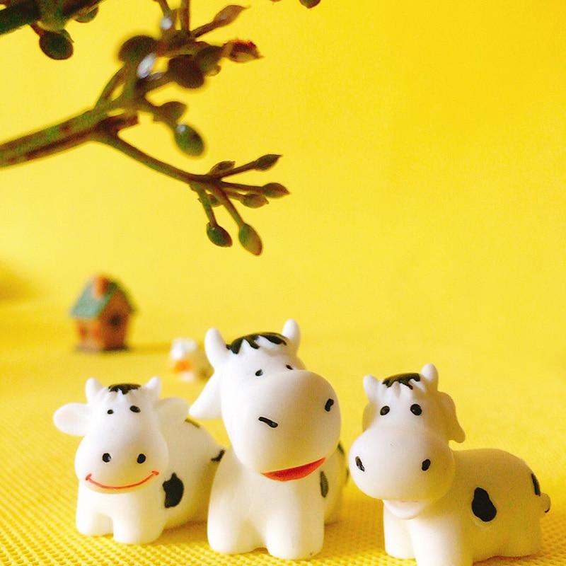 Ξ3 pièces/vache/poupée maison décor/miniatures de fantaisie ...