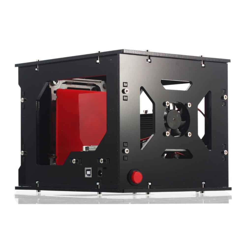 NEJE Machine de découpe de bois, nouveau graveur laser 2019 mw 405nm Ai, bricolage, coupe Laser de bureau, imprimante, graveur, 1500 - 3