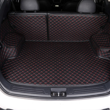 Custom Car Trunk Mat For Mitsubishi ASX Lancer Outlander Pajero Grandis Eclipse galant FORTIS All surrounded by car trunk pad