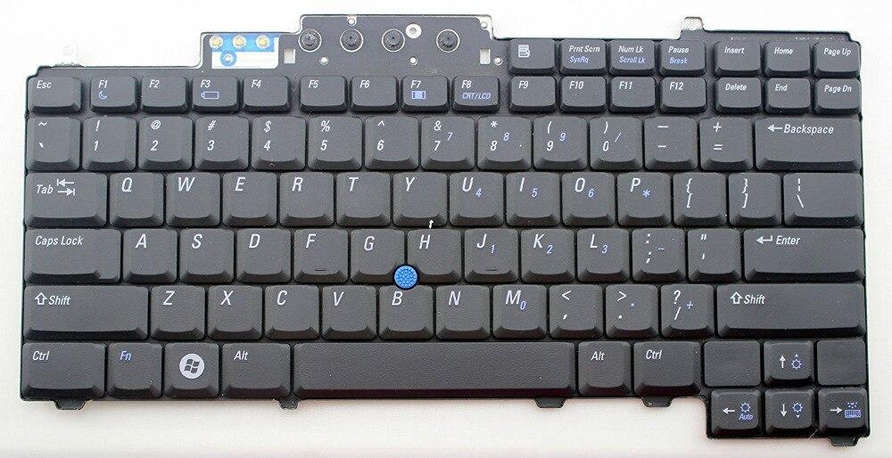 imágenes para Original para dell latitude d620 d620 atg xfr d630 d631 D820 D830 M65 M2300 M4300 UC172 0UC172 NSK-D5001 9J. N6782.001 0D teclado